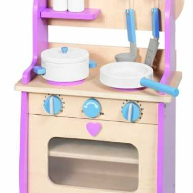 Kinderspeelgoed houten keuken