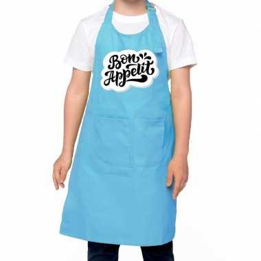 Speelgoed bon appetit keukenchort blauw kinderen